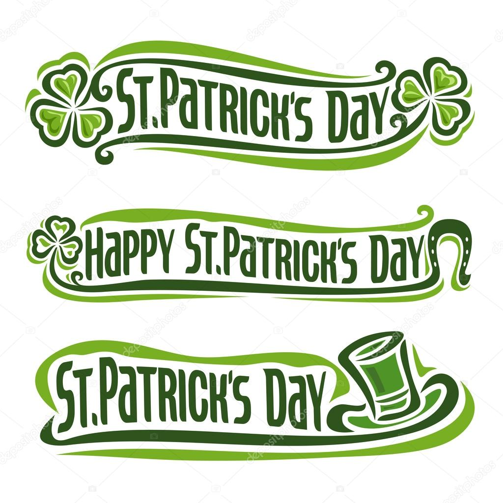 Vector illustration on the theme of St. Patrick's Day