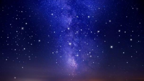 seamless looping of twinkling stars, loop animation background.