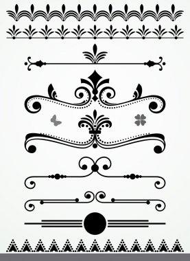 Page Decoration Elements