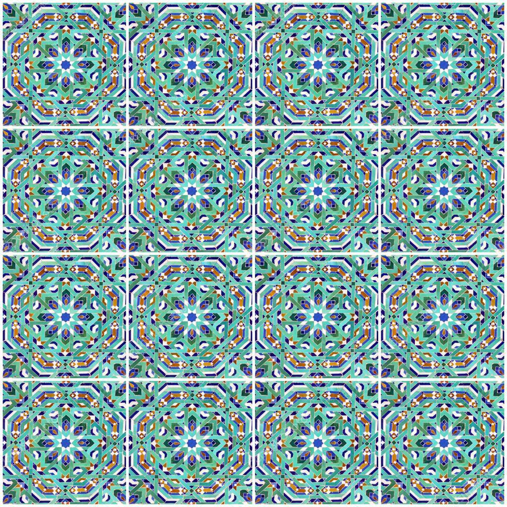 Marokkanische Mosaik Fliesen Keramische Dekoration Der Moschee - Mosaik fliesen marokko