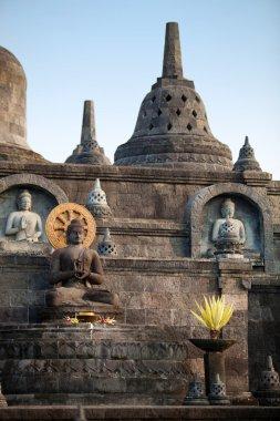 Buddha statues on Bali