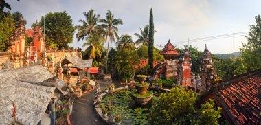 Banjar budhist temple on Java