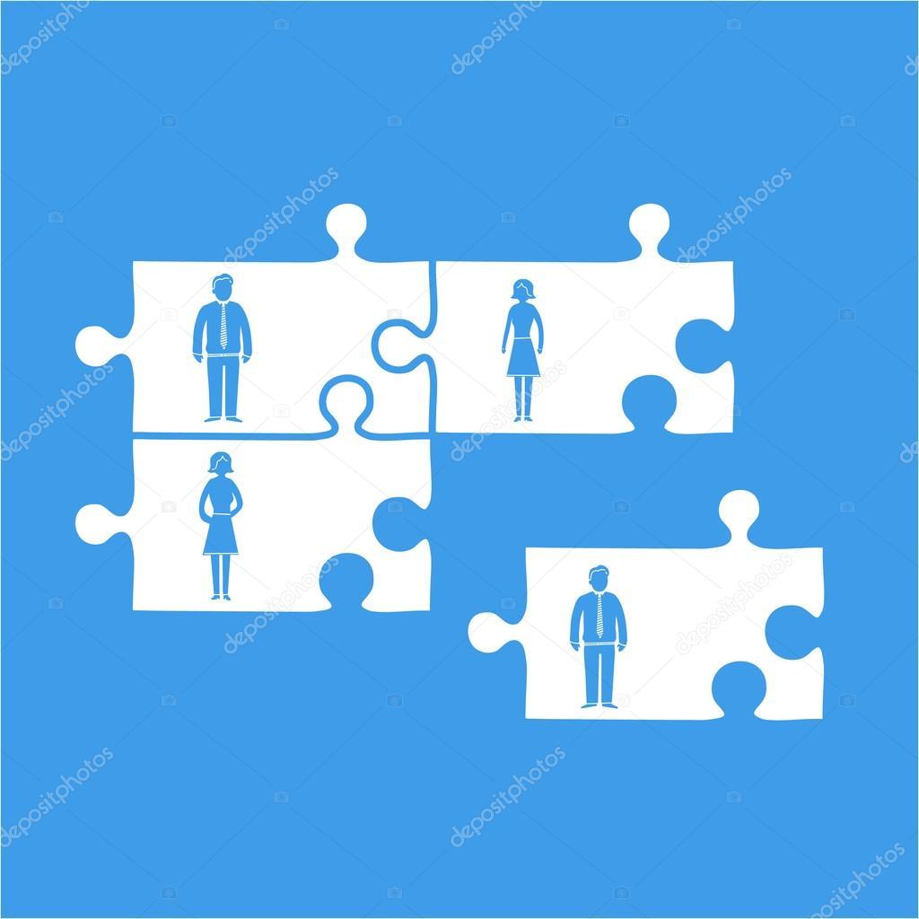 business team building stock vector honzahruby 68578831