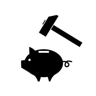 Piggy moneybox icon