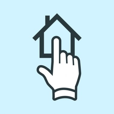 Tap on house real estate