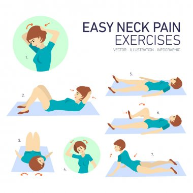 Easy neckpain exercises