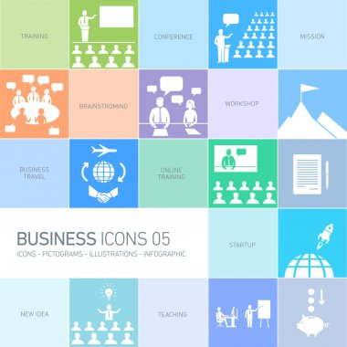 Design business icons