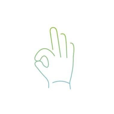 icon of okay hand gesture