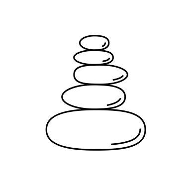 Pyramid of the balancing stones