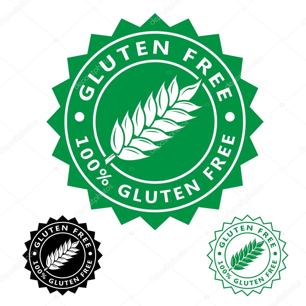 Gluten Free Icon Seal — Stock Vector © renomartin #76277183