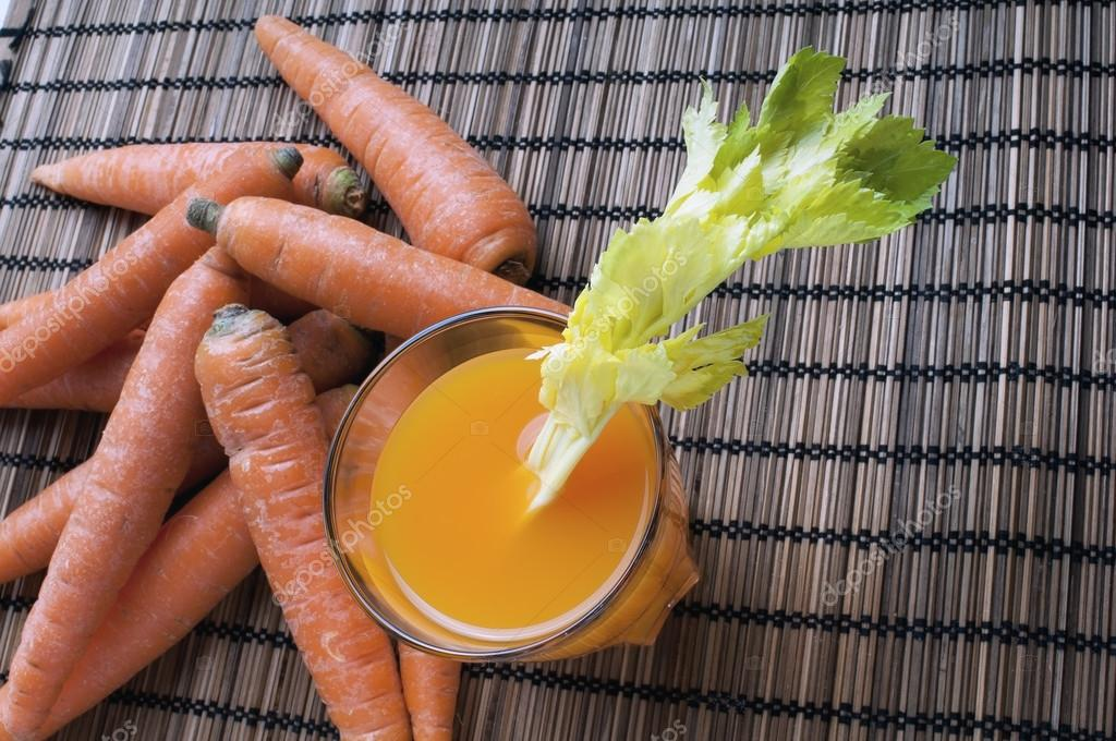 Carrots source of beta-carotene and juice