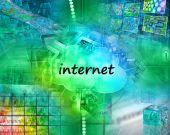 Internetu abstrakt