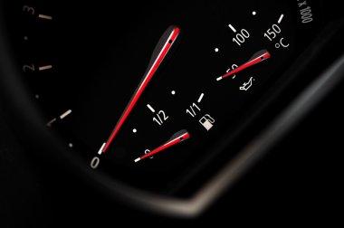 Fuel indicator.