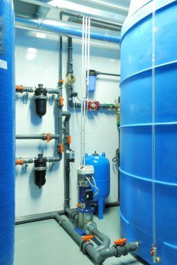 tube, tap and pump