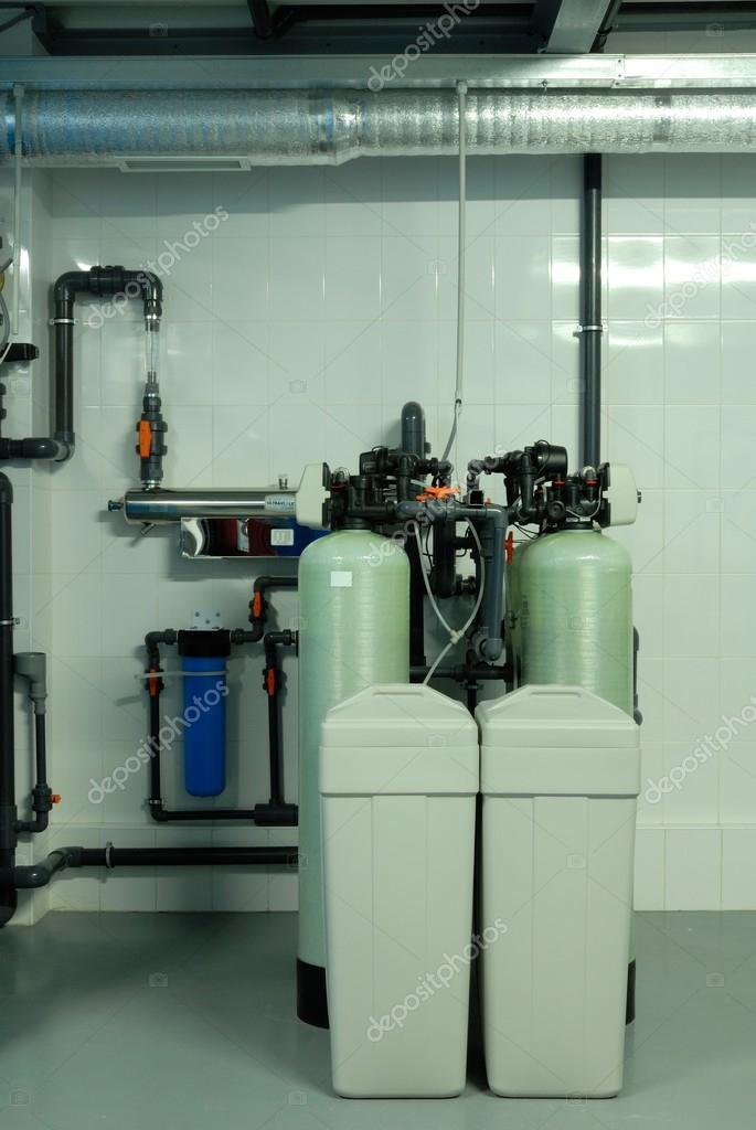 Armaturen industrie  Industrie-Rohre, Armaturen, Pumpe, blaues Tintenfass — Stockfoto ...