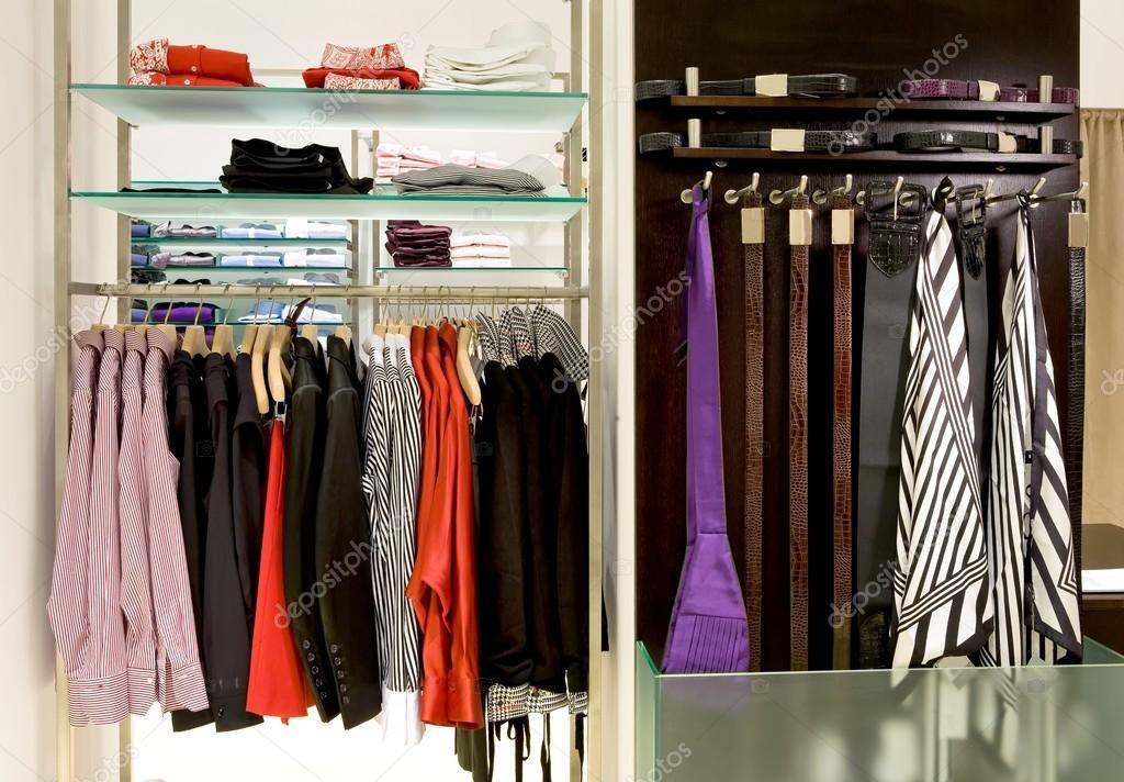 inside fashion store