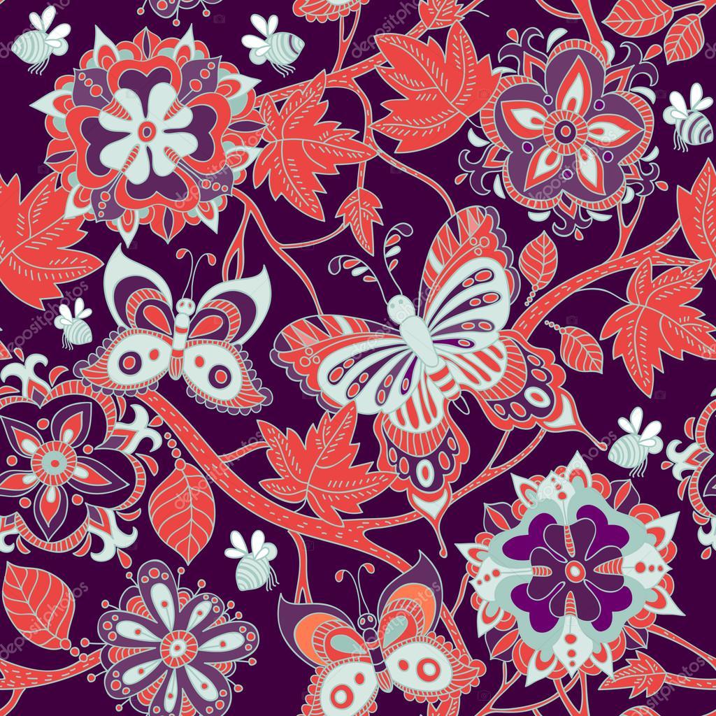 Fondo: Pantalla De Flores De Colores