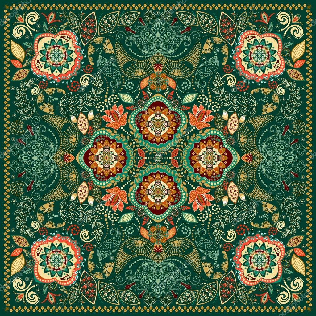 Ornamental Paisley pattern