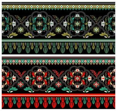 Decorative colorful border