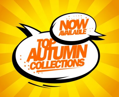 Top autumn collections now available.
