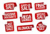 Mega úspory prodej samolepky.