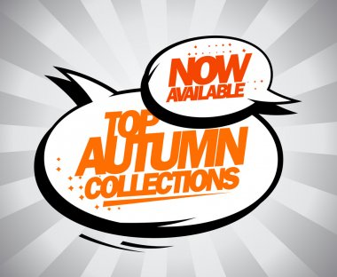 Now available Top autumn collections.