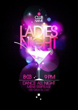 "Картина, постер, плакат, фотообои ""ladies night party ."", артикул 77855634"