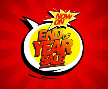End of year biggest sale design.