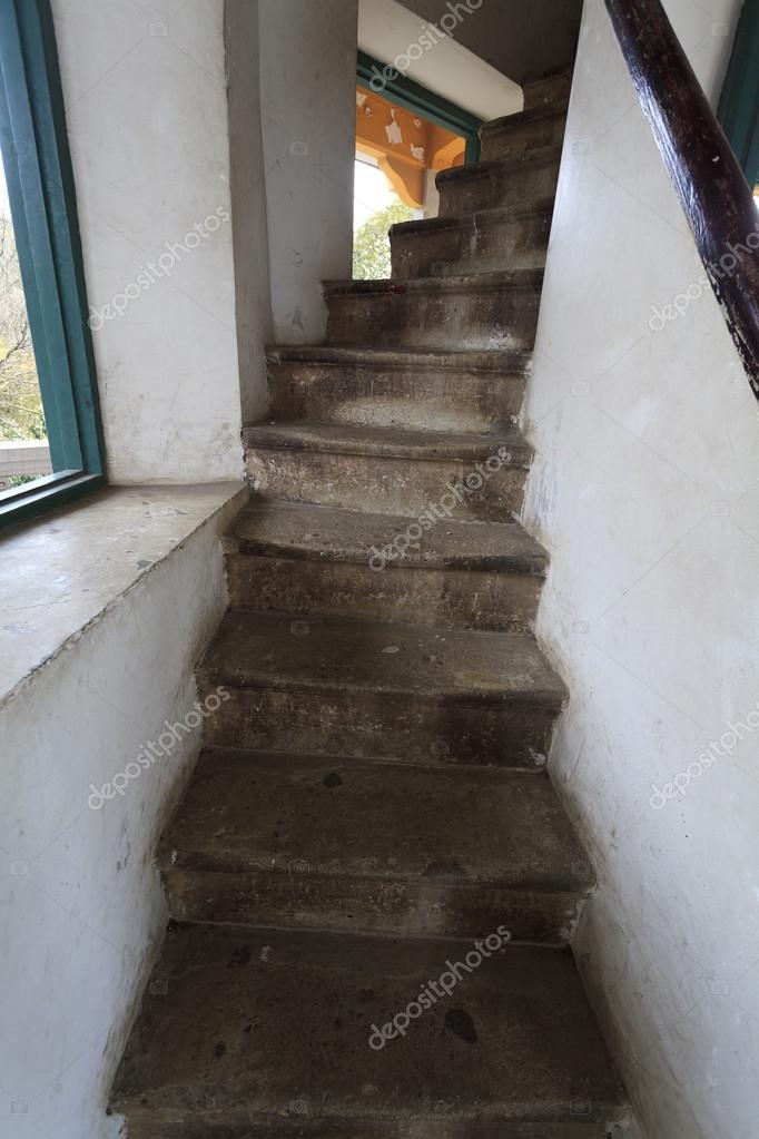 Oryginał Wąskie schody — Zdjęcie stockowe © wangsong #63880599 WP68
