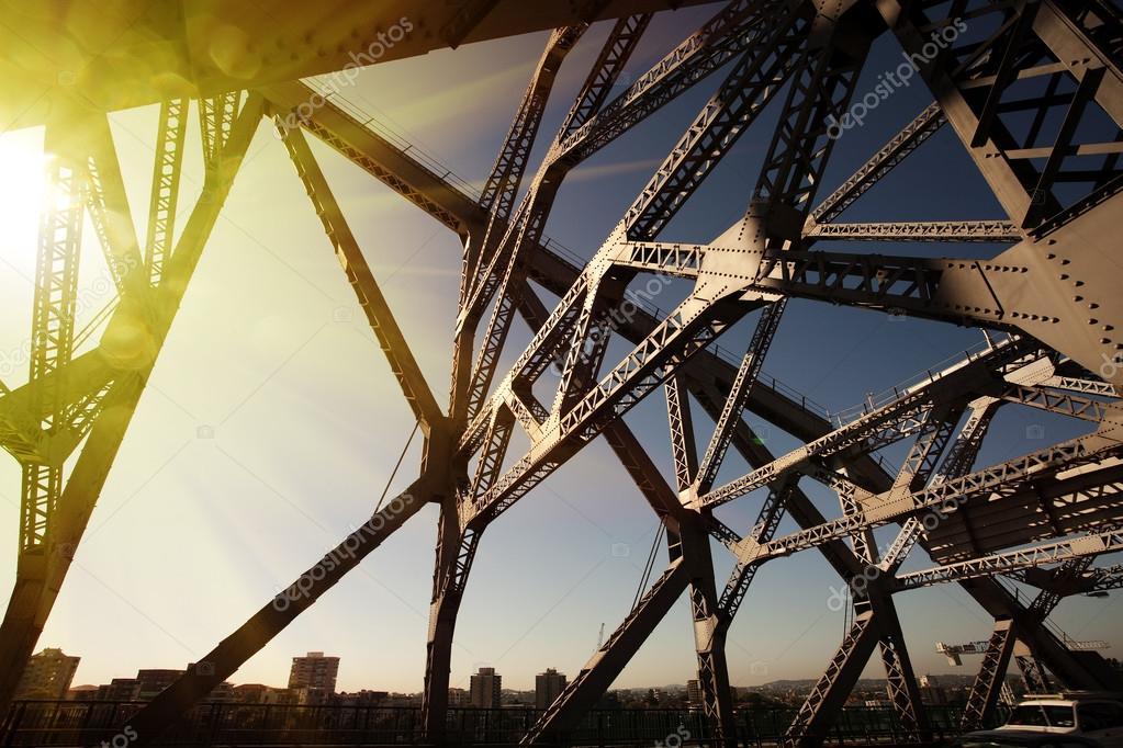 Australia Brisbane iron bridge