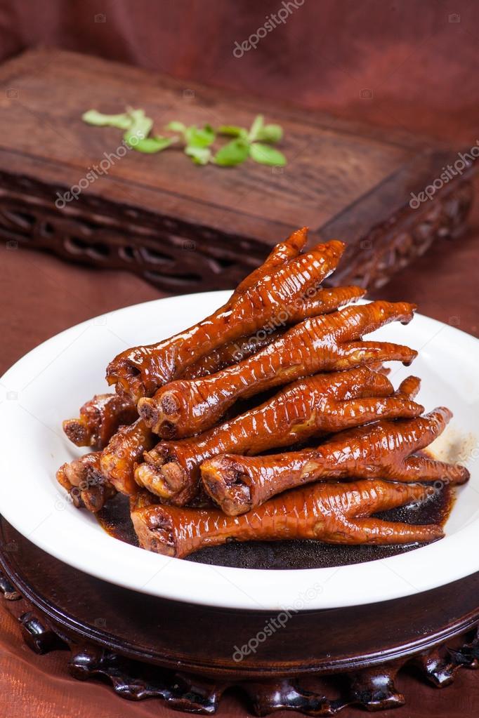 Chinese Food Chicken Feet Stock Photo Wangsong 89579774