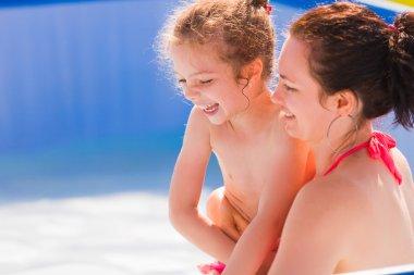 Family fun at pool