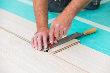 Flooring renovation in house