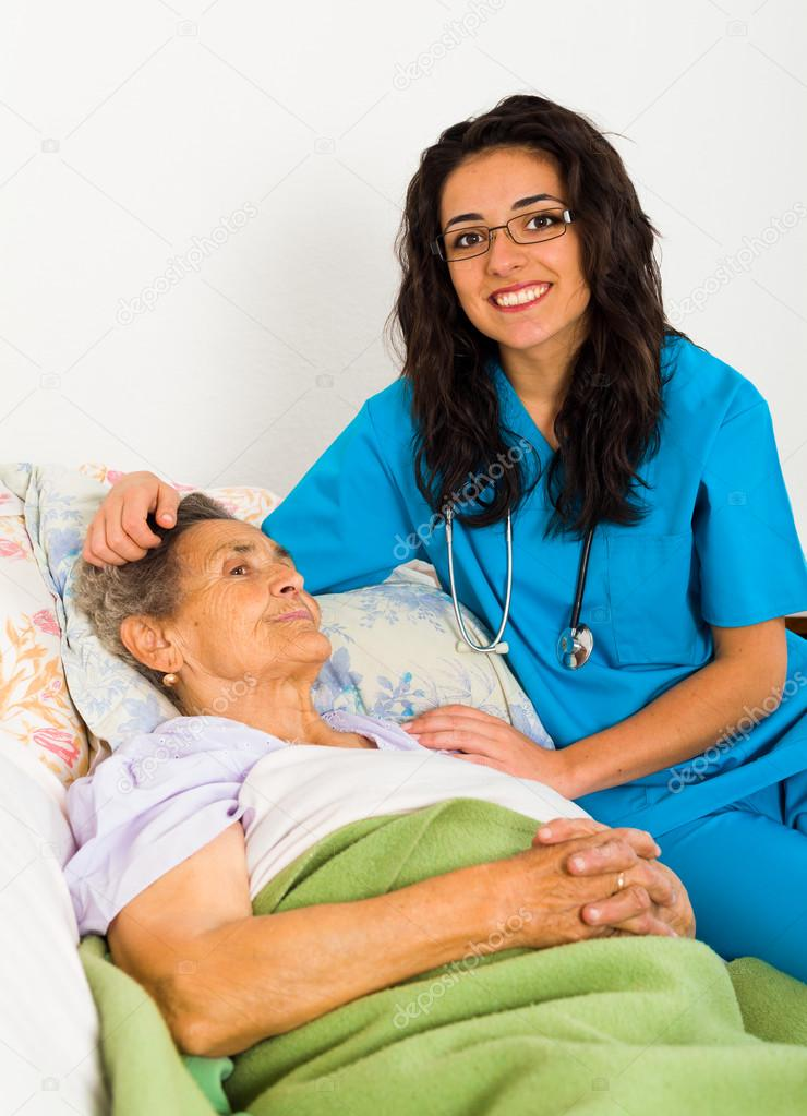 Social care nurse for elderly patients