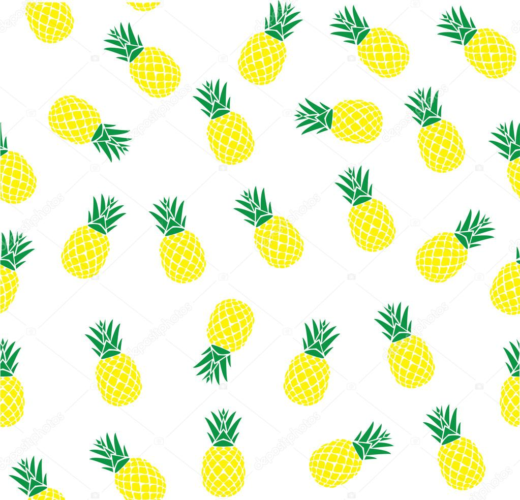 Vector ananas achtergrond stockvector lilac design for Fond ecran ananas