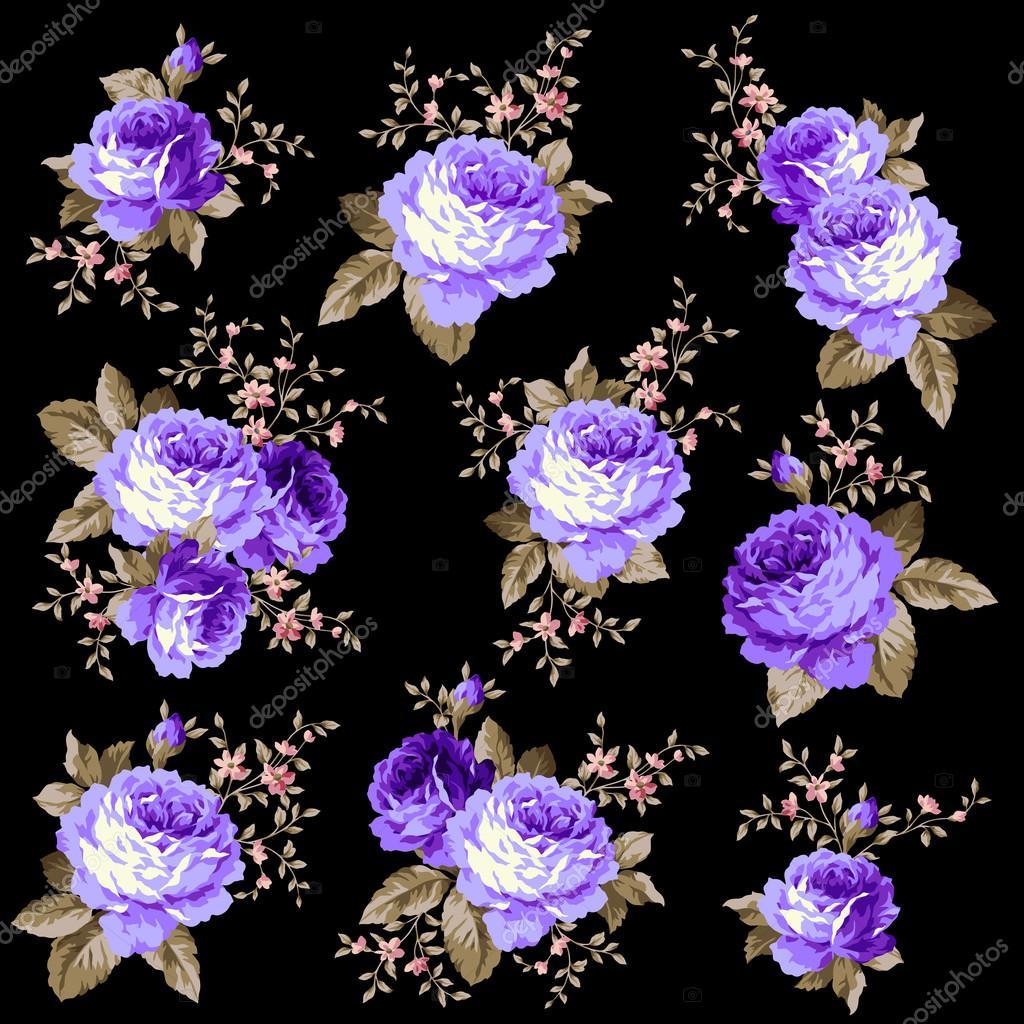 Rose flower illustration,
