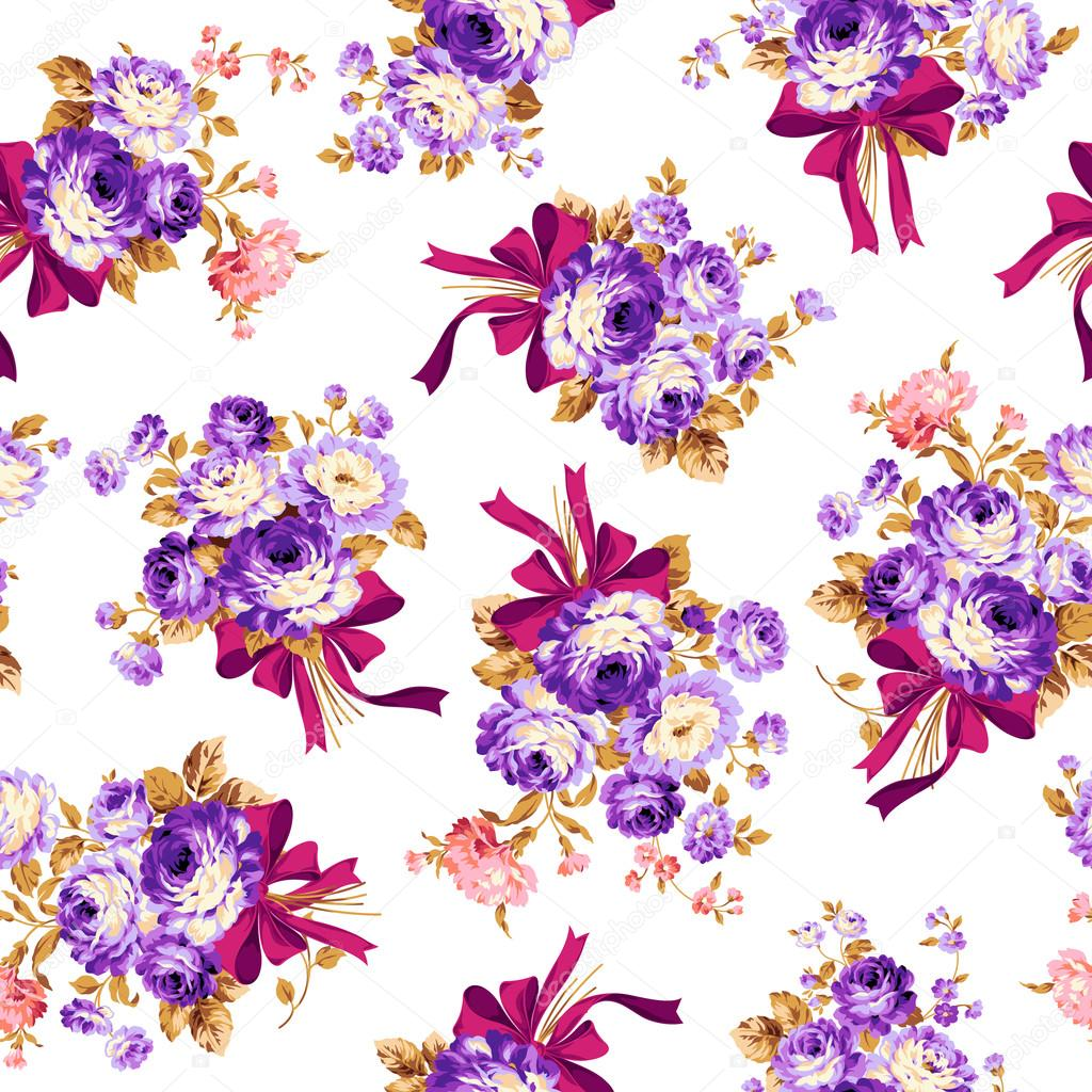 Rose flower pattern,