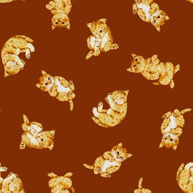 Pretty cat pattern