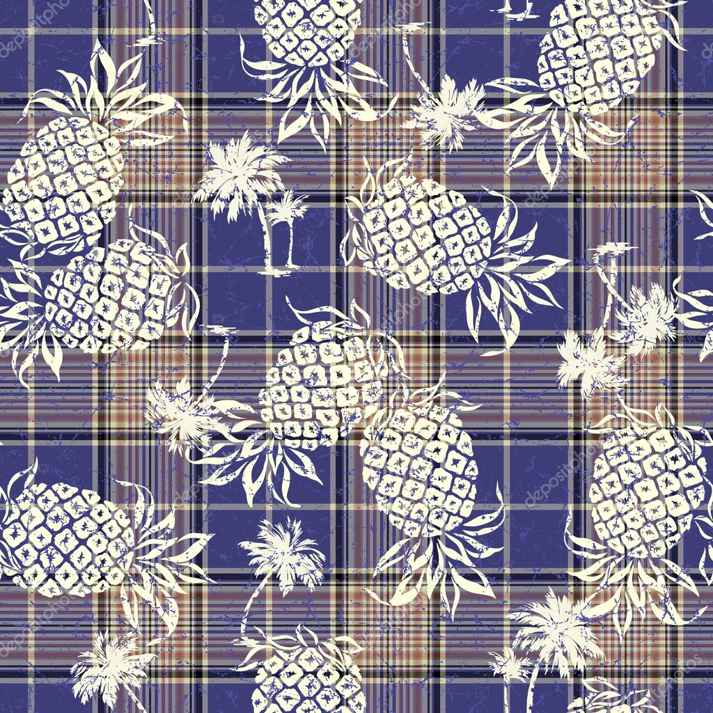 pattern of pineapple