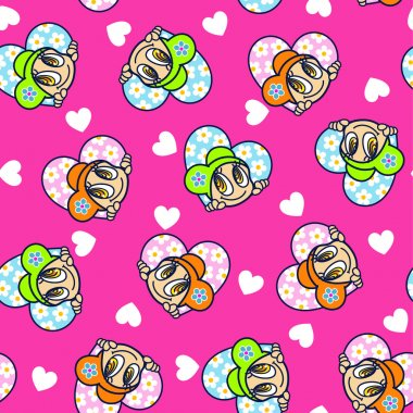 Pretty girl pattern