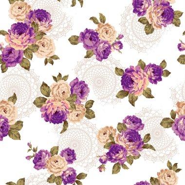 Pattern of rose,
