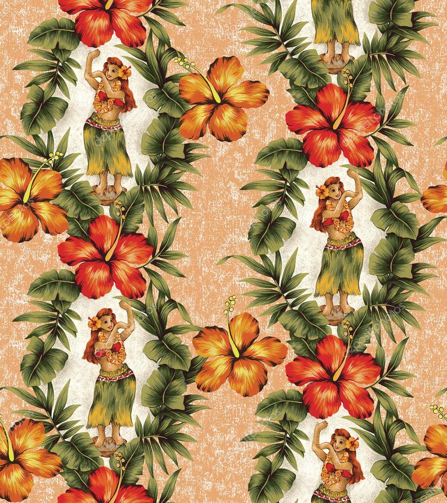 Hibiscus and hula