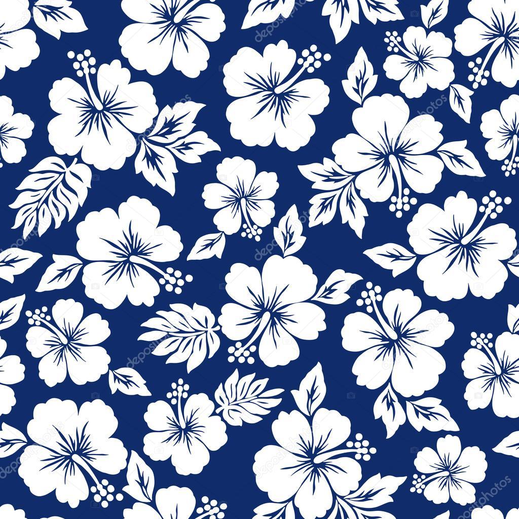 Hawaiian Flower Pattern - Flowers Ideas For Review