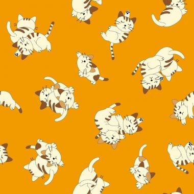 Sleep cat pattern