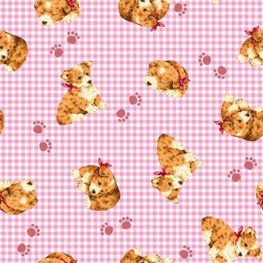 Pretty dog pattern