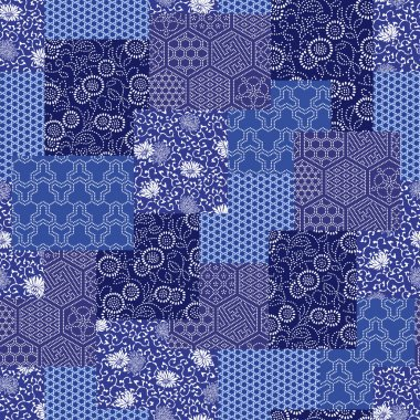 Japanese style pattern patchwork
