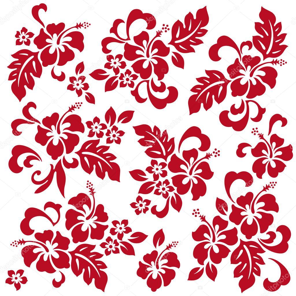 ハイビスカスの花イラスト ストックベクター Daicokuebisu 98279208
