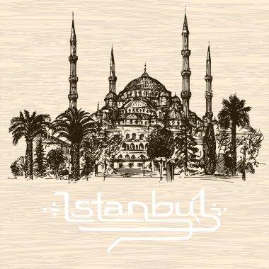 Istanbul. Hand drawn illustration