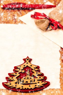 Letter to Santa Claus, Christmas and New Year decoration