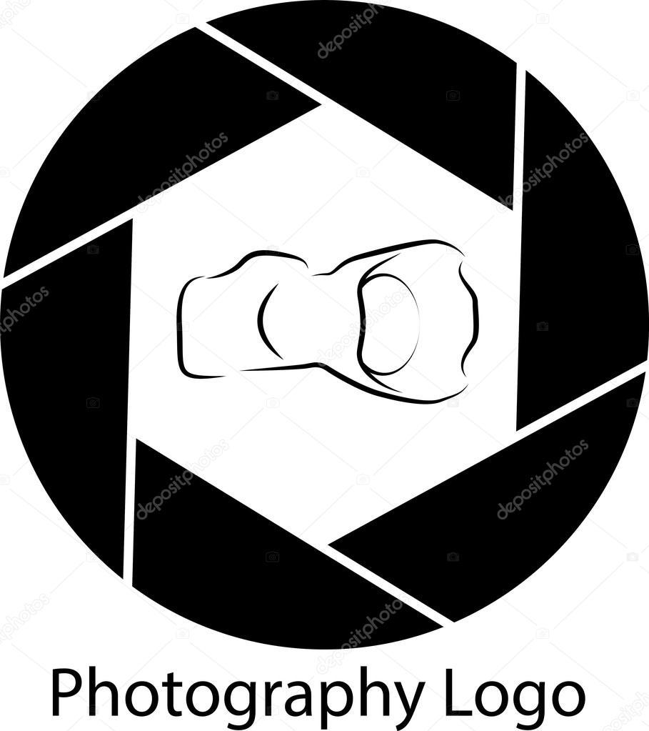 Logotipo Do Diafragma De Foto Vetor De Stock Danielmr 89216732